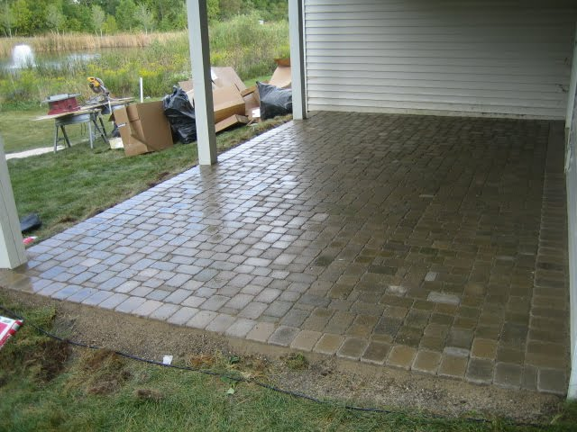 Brick Pavers,Canton,Ann Arbor,Plymouth,Patio,Patios,Repair ... on Square Paver Patio Ideas id=38452