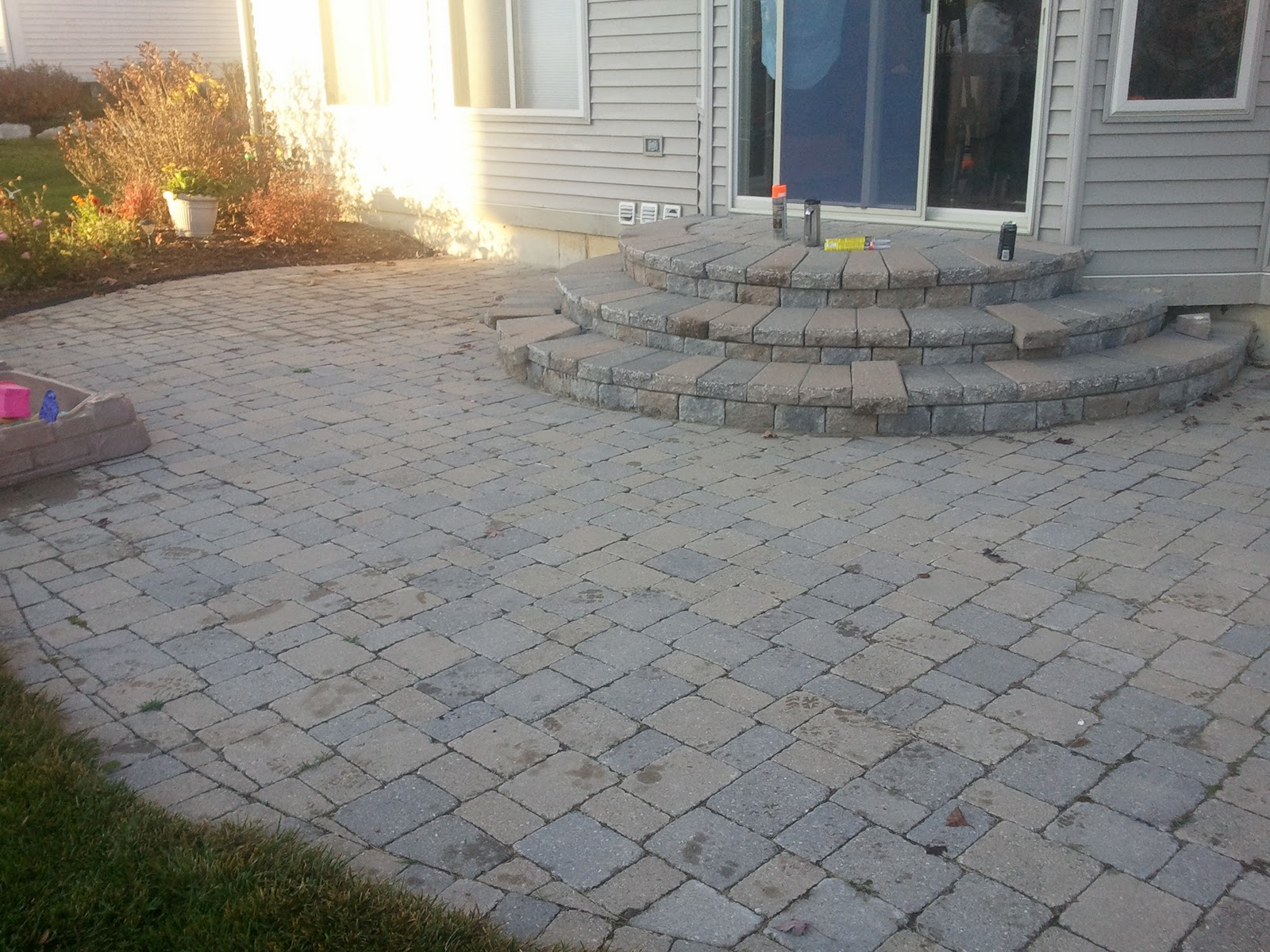 Brick Doctor Bill Paver Patio And Steps Red In Saline