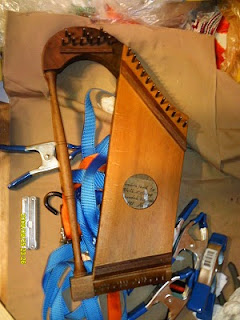 Finished harp, w/o strings