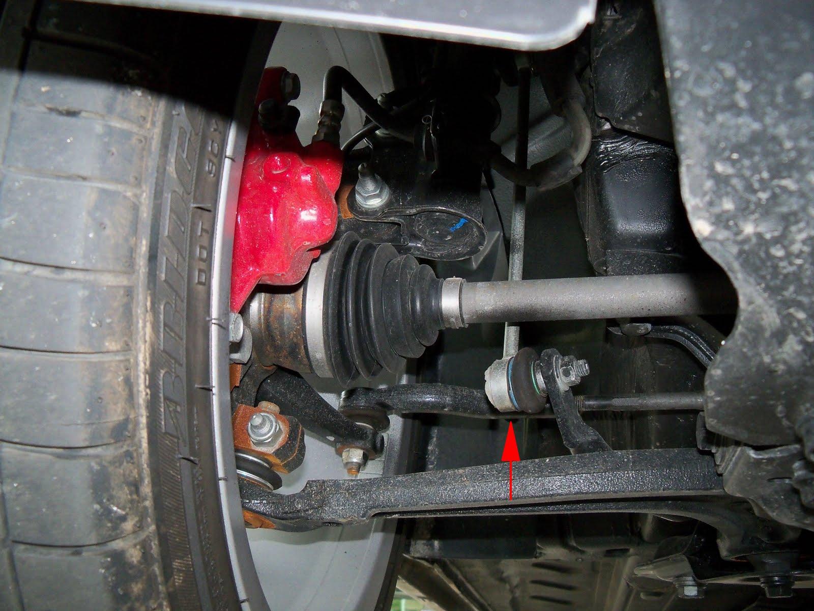 Fiat Usa Front Lower Endlink