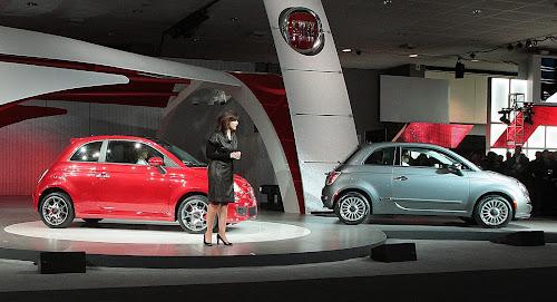 Fiat 500 USA Launch
