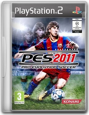 Capa PES 2011 (Pro Evolution Soccer) – PS2