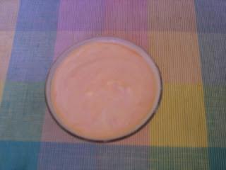 Papaya yogurt