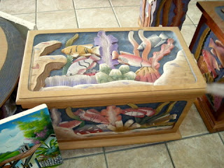 Honduran painted chest