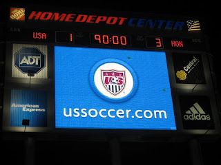 US-Honduras game score