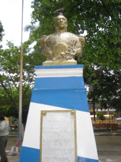 monument to Francisco Morazon, La Ceiba, Honduras