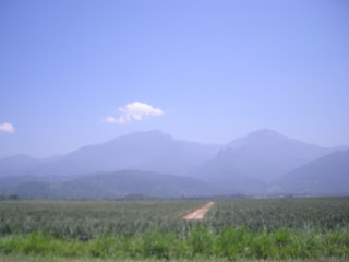 Honduran mountains near La Ceiba