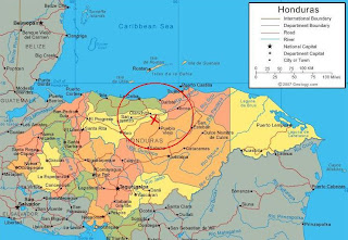 Honduras earthquake May 29, 2009