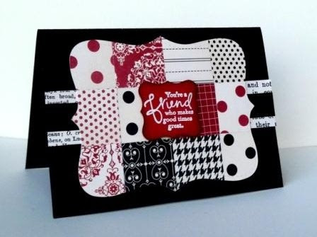 Top Note Patchwork with Love Letter