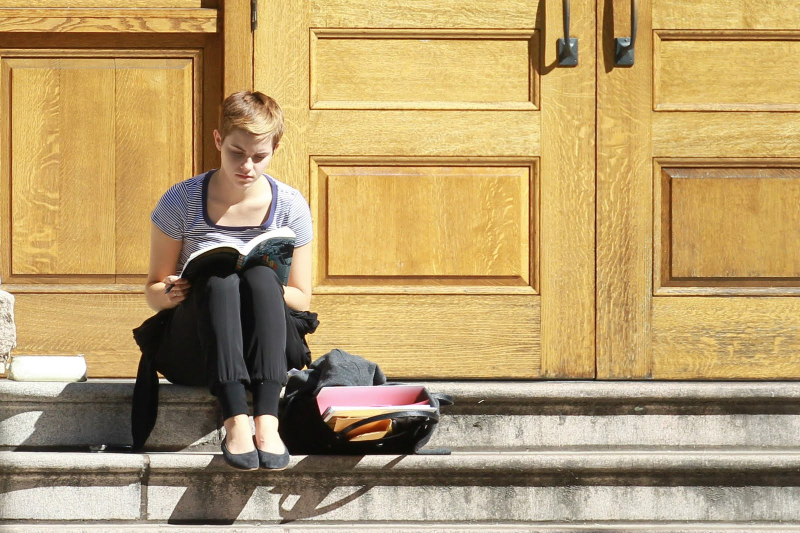 Emma Watson Loves A Good Rim Job
