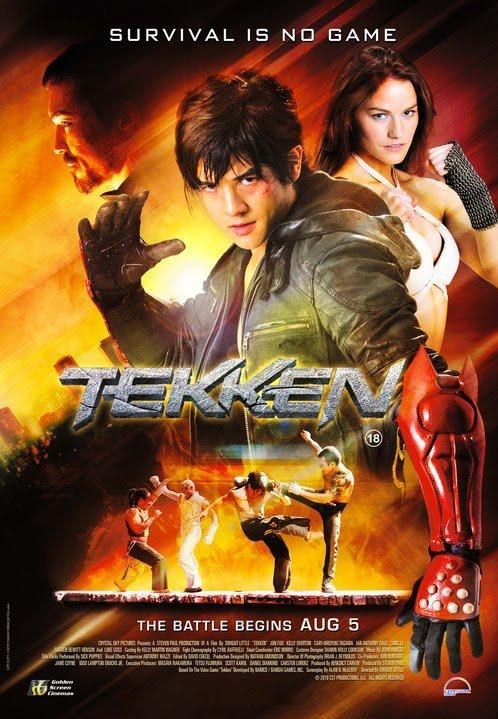 Tekken The Movie Poster : Teaser Trailer