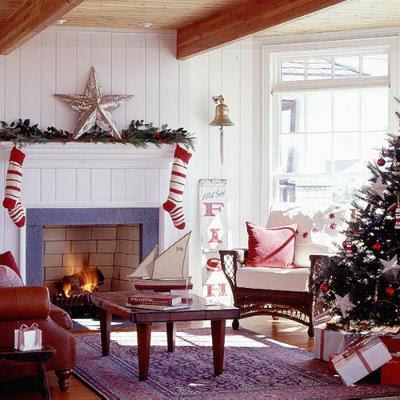 Christmas Living Room Decoration