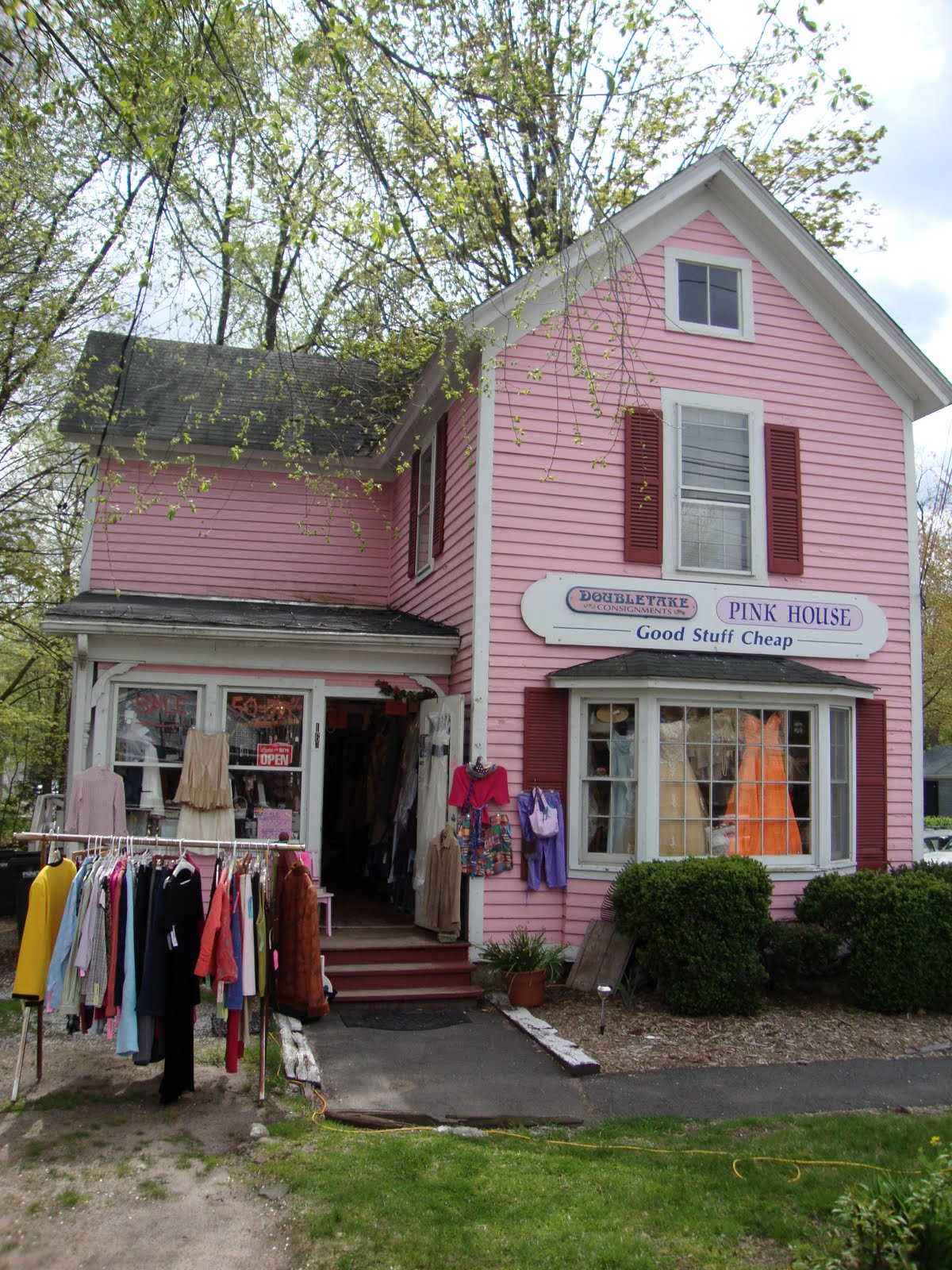 Of Canton Which Is Housed In This Adorable Pink House Or I Ve Driven Ped It A Zillion Times Looks So Cute Kept Meaning To Stop