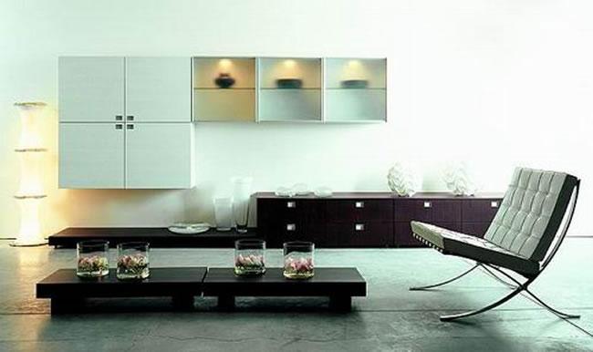 Vestuario y decoracion decoracion minimalista for Decoracion de interiores de casas minimalistas