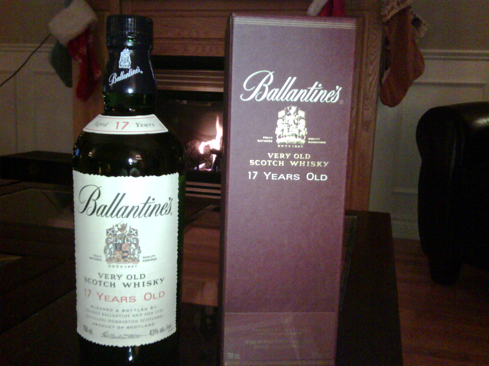 Ballantineu0027s 17 Years Old Blended Scotch Whisky