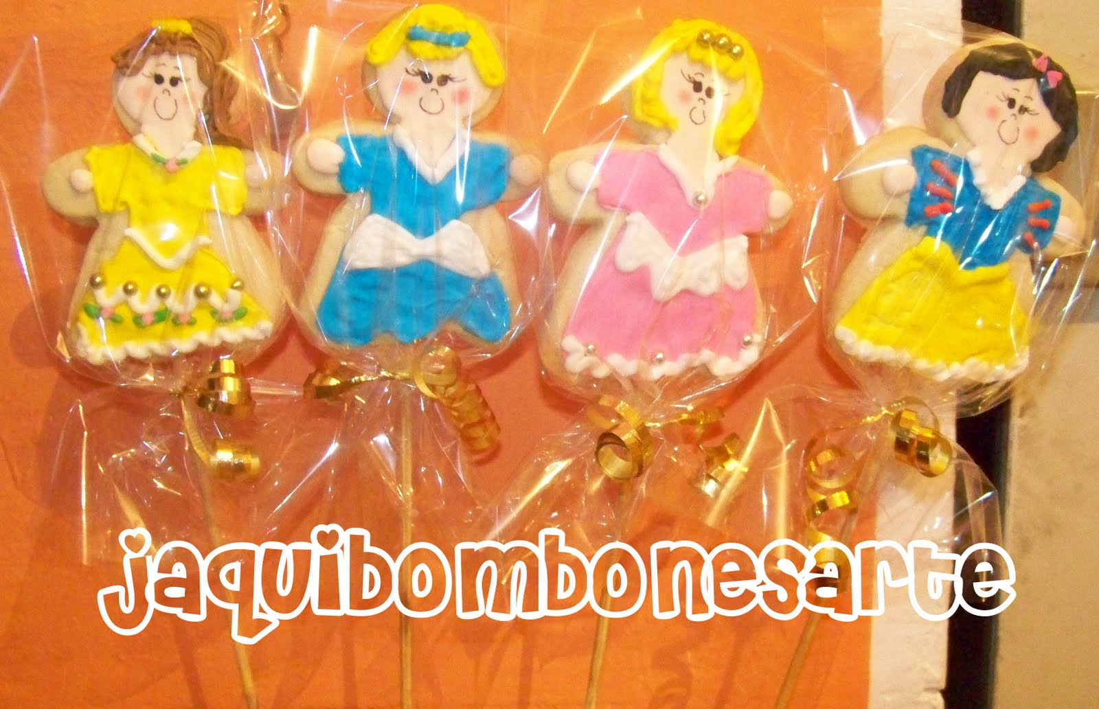 Galletas Decoradas De Princesas Jaqui Bombonesarte Galletas Decoradas De Las Princesas