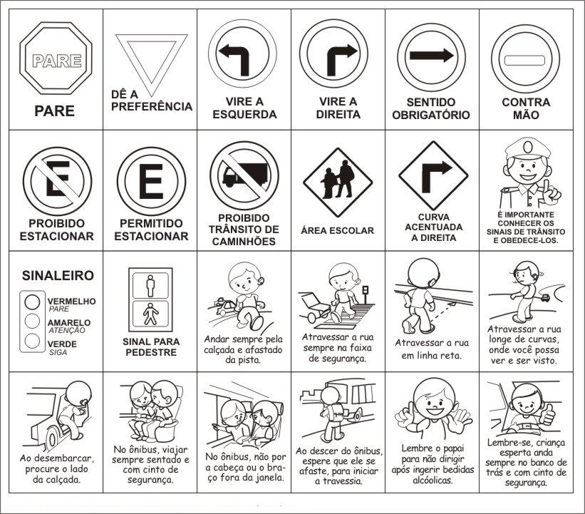 Imágenes De Señales Preventivas De Tránsito Para Imprimir Y
