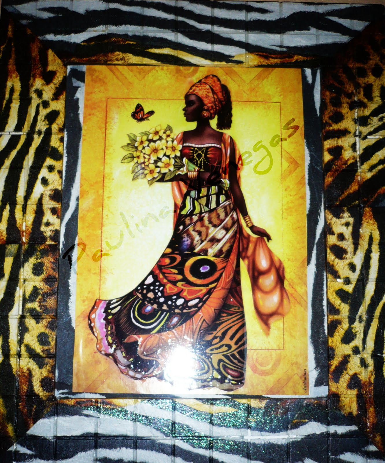 Tejas Decoradas En Relieve Tejas Decoradas En Relieve Cuadros Con Diseños Africanos