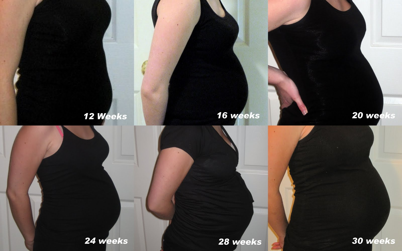 Pregnancy Belly Week By Week Chart From any weeks prior to 12Pregnancy Belly Week By Week Chart