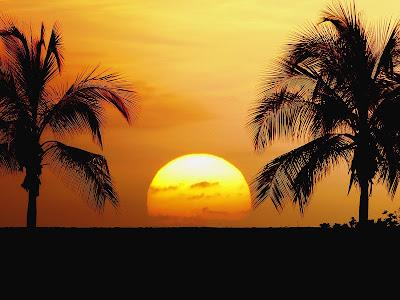 D Desktop Wallpapers Sun Set Or Sun Rise 02