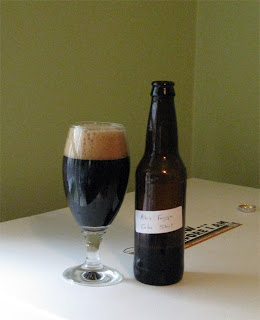 Foreign Export Stout (What a beautiful beer!)