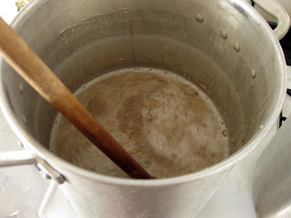I don't mind the extra time a decoction takes, but all the stirring is a pain.