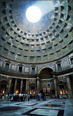 Creativeshi9 Interior Of Pantheon Rome Italy 118 125 Ce