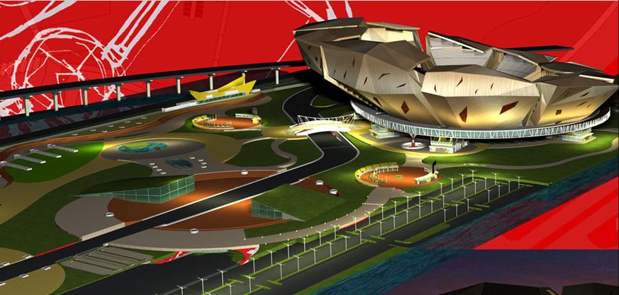 Jakarta International Stadium Image: Urban Lab Global Cities (ULGC): BMW International Stadium
