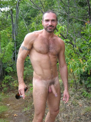 men nude black outdoors Gay