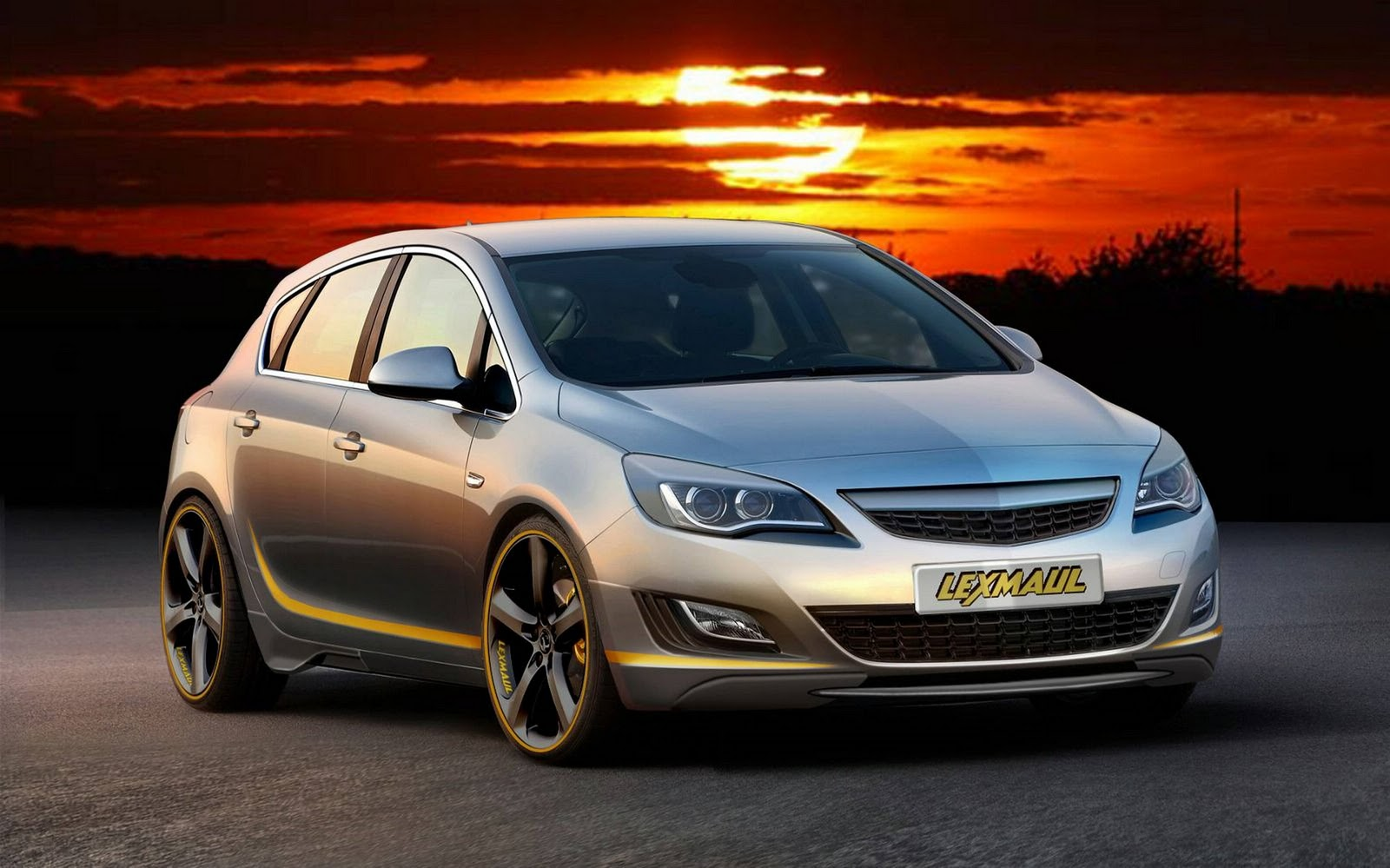 opel insignia tuning hd wallpapers wall box. Black Bedroom Furniture Sets. Home Design Ideas