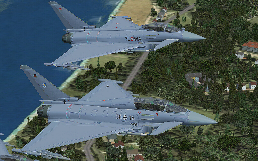 FS Demais: AFS Design Eurofighter Typhoon (FSX)