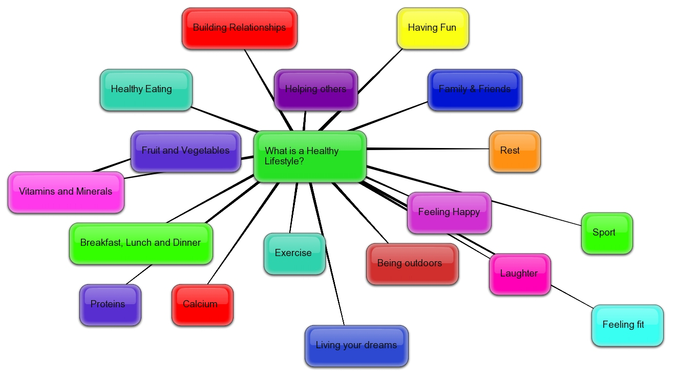 A Healthy Lifestyle, A Healthy Me: Week 1: Concept Map and ...