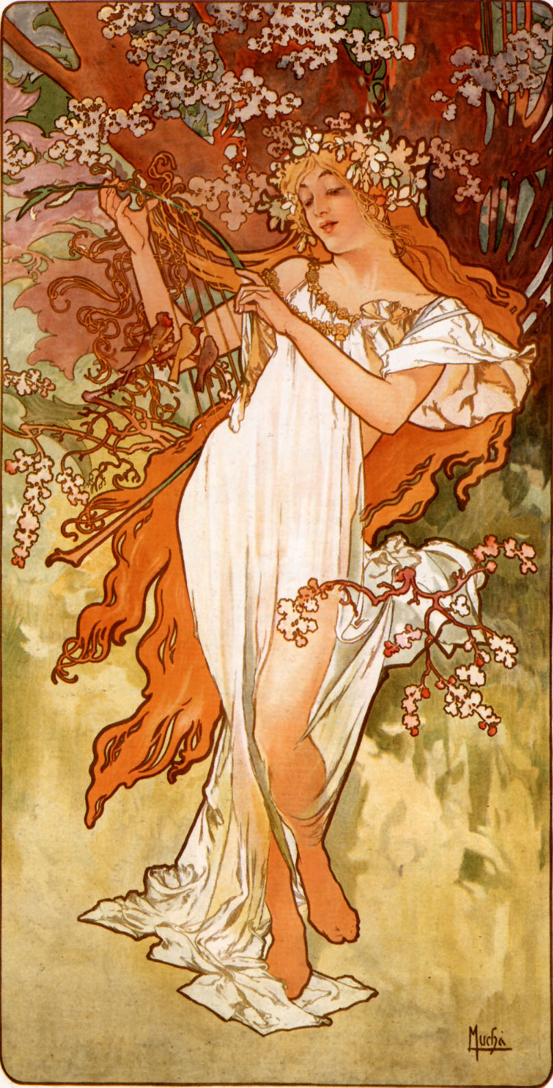Graphic Design Research: The Big Deal About Alphonse Mucha
