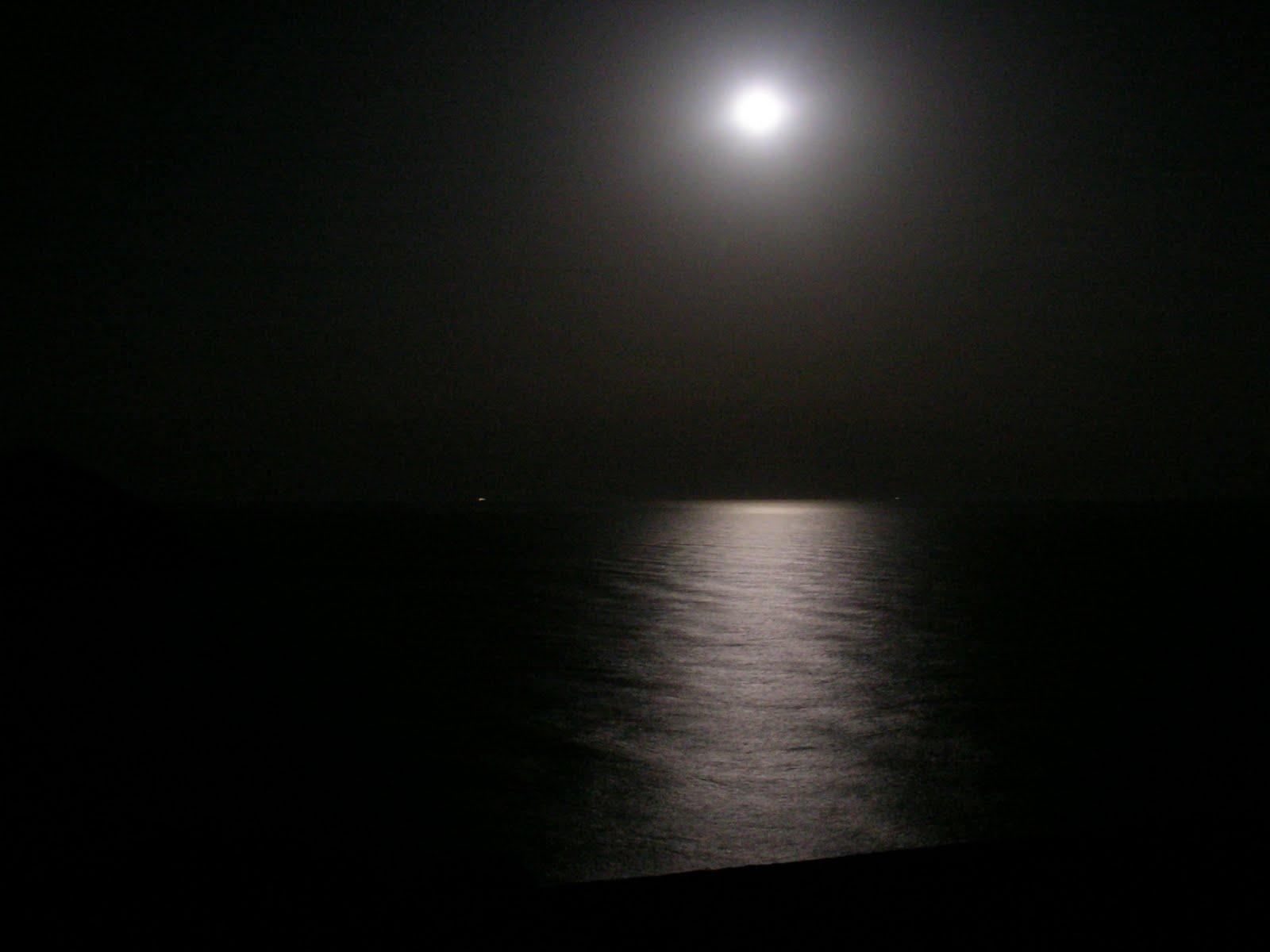 Grayscale Luna Piena