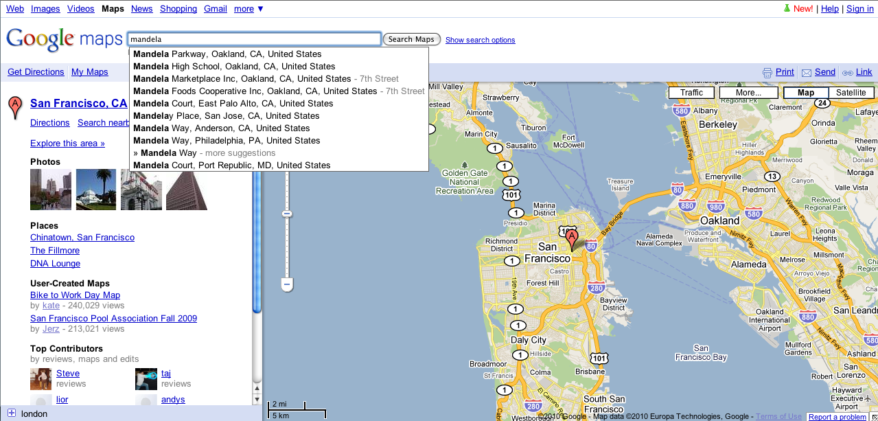 Google Lat Long The Google Maps Search Box Just Got Smarter
