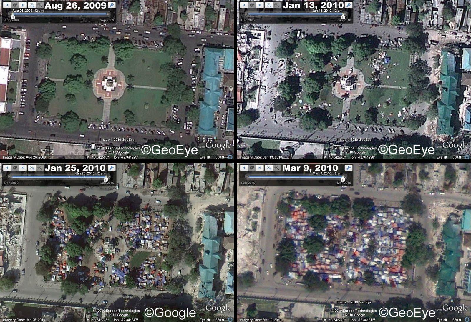 Google Lat Long: Imagery for response to Haiti earthquake and Yazoo