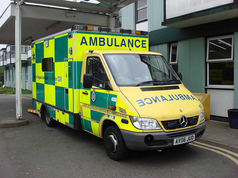Spice Up Why is the word AMBULANCE written backwards on