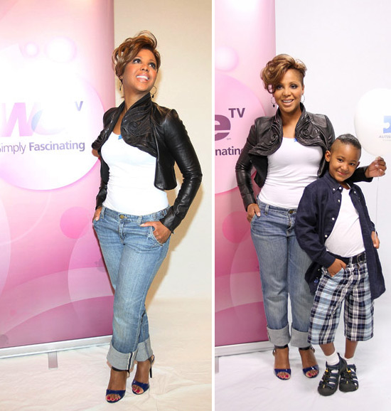 BriaNikki's Blog: Toni Braxton And Her Son
