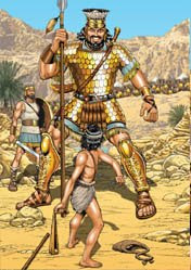 The Bible illustration blog: David and Goliath, and ...
