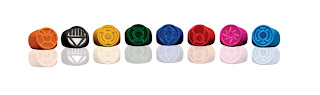 Blackest Night Lantern Rings