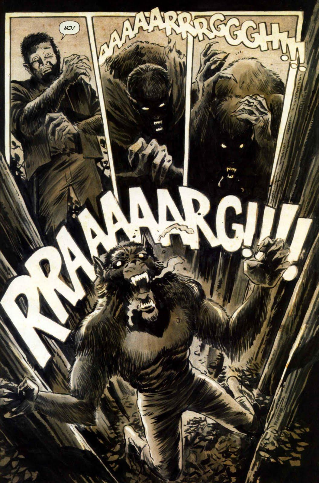 Werewolf vs weretiger - photo#29