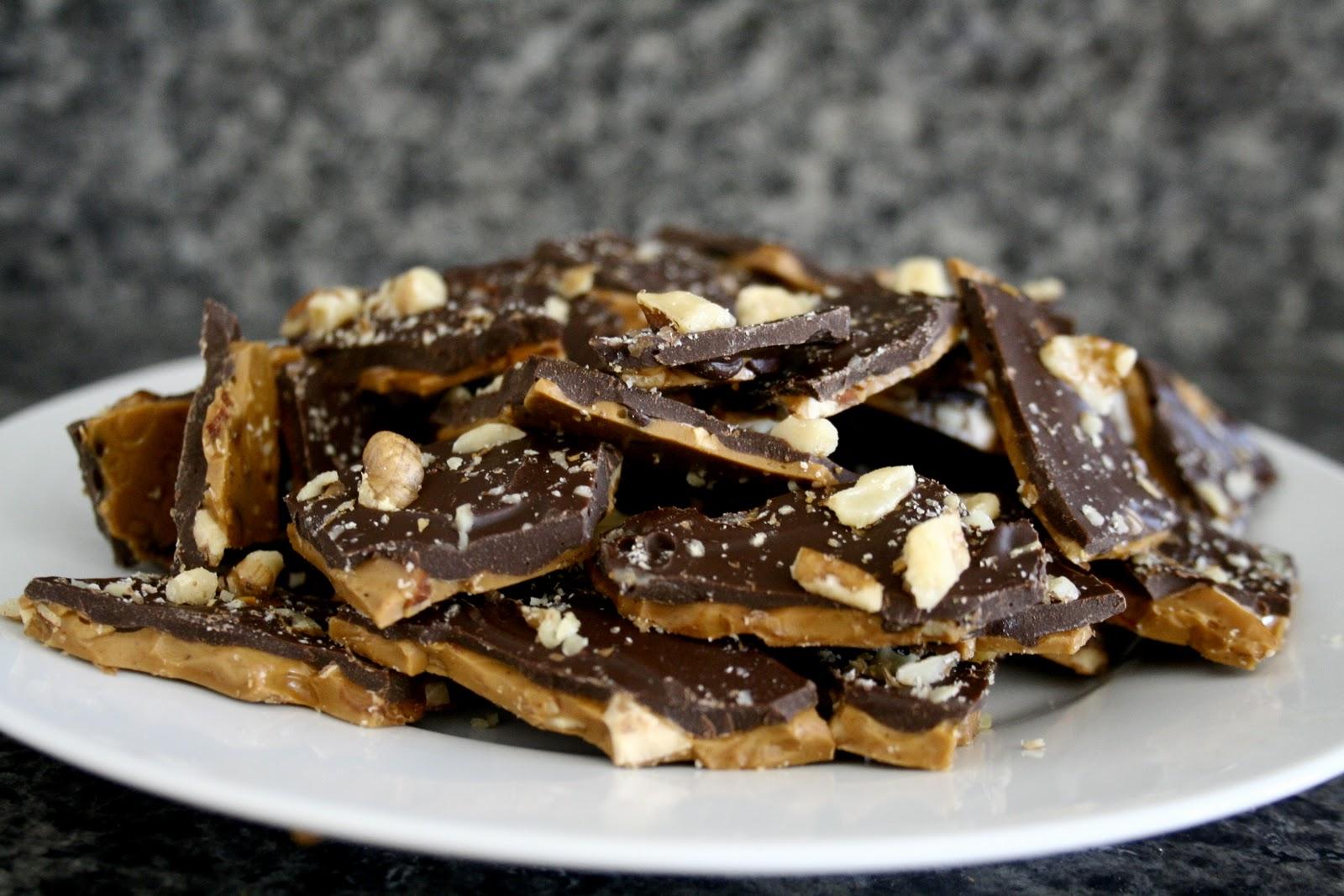 Chocolate Kix Toffee Bark Recipe — Dishmaps