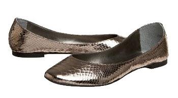 Peep Toe Pewter Shoe Melbourne