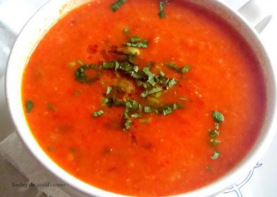 Resep Sup Paprika Merah untuk Membantu Meningkatkan IQ