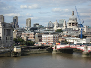 View from Oxo Tower, South Bank