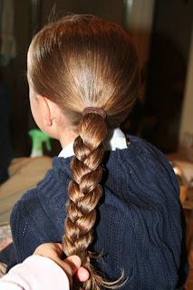 Quick Hairstyles: Ponytail Half Braid