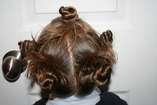 One Crazy Do Holiday Twisty Buns Cute Girls Hairstyles