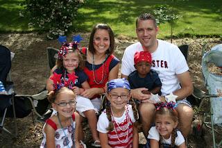 Familt 4th of July - McKnight Family