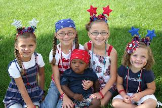 Familt 4th of July - McKnight Children