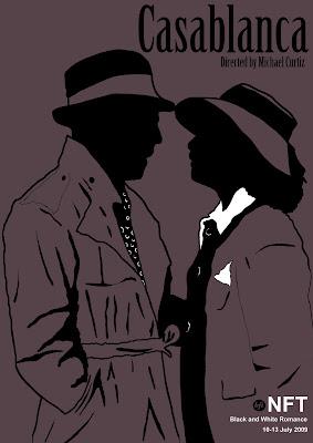 Emma Codner Illustration and Design: Casablanca Film Poster.